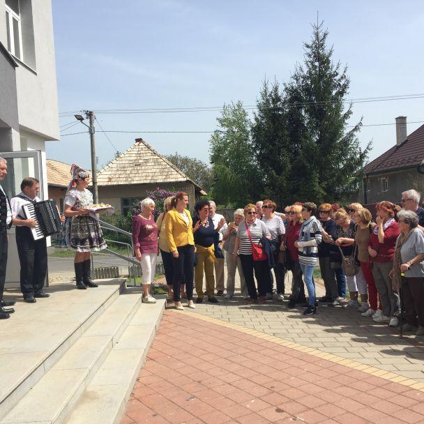 Delegácia dôchodcov z Bratislavy 26. 04. 2109