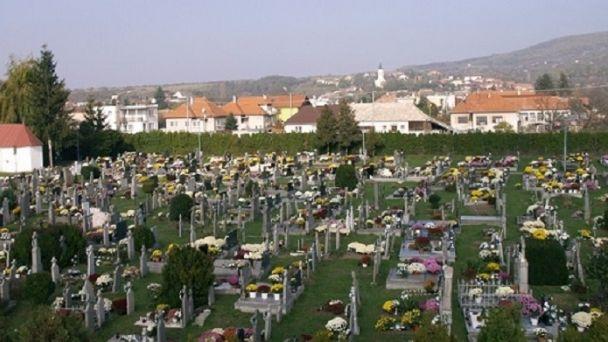 Kamerový systém na cintoríne