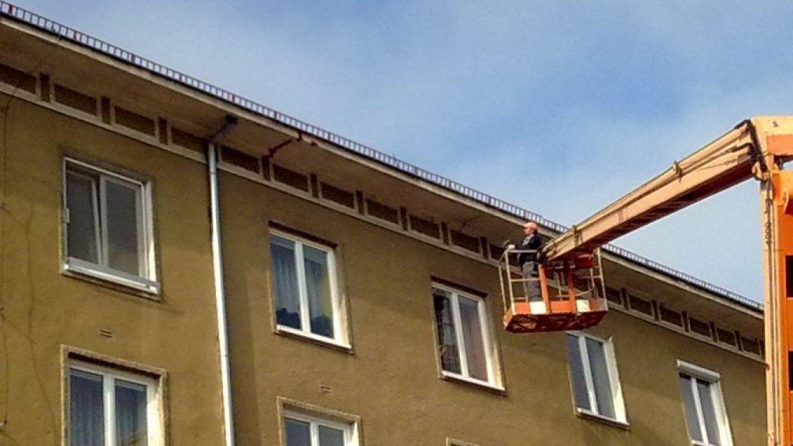 Oprava školskej bytovky