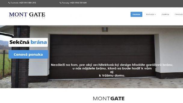 Jakub Kováčik - MONT GATE