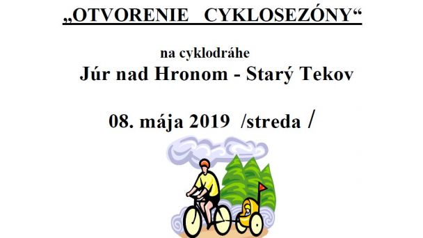 Otvorenie cyklosezóny 2019